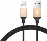 Кабель Baseus Insnap Series Magnetic USB to Lightning 1.2 м (Black/Gold)