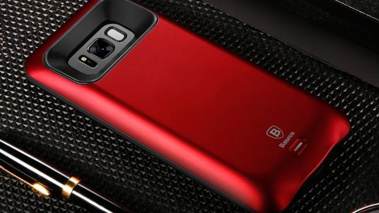 Чехол-аккумулятор Baseus Geshion Backpack Power Bank 5000 mAh для Samsung Galaxy S8