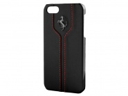 Чехол Ferrari Montecarlo Hard для iPhone SE/5S/5 (Black)