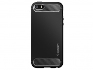 SGP Rugged Armor Black чехол для iPhone 5/5s/SE
