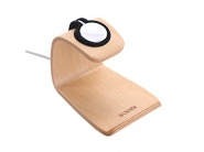 Samdi Natural Wood Docking Charge Station Beige док-станция для Apple Watch