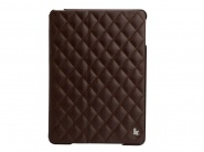 Jison Quilted Leather Cover Brown чехол для iPad Air