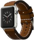 Сменный ремешок Cozistyle Leather Band CLB012 для Apple Watch 42mm (Dark Brown)