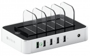 Док-станция Satechi 5-Port USB Charging Station B0170L326A (White)