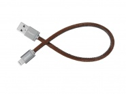 Кабель PlusUs LifeStar Lightning to USB Cable (Fuzzy Mocha)