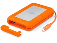 Внешний жесткий диск LaCie Rugged V2 2Tb Thunderbolt cable (STEV2000400)