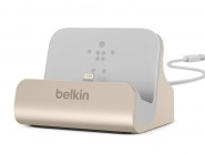 Док-станция Belkin Charge + Sync Dock для iPhone (Gold)