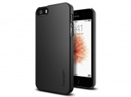 SGP Thin Fit Black чехол для iPhone 5/5s/SE