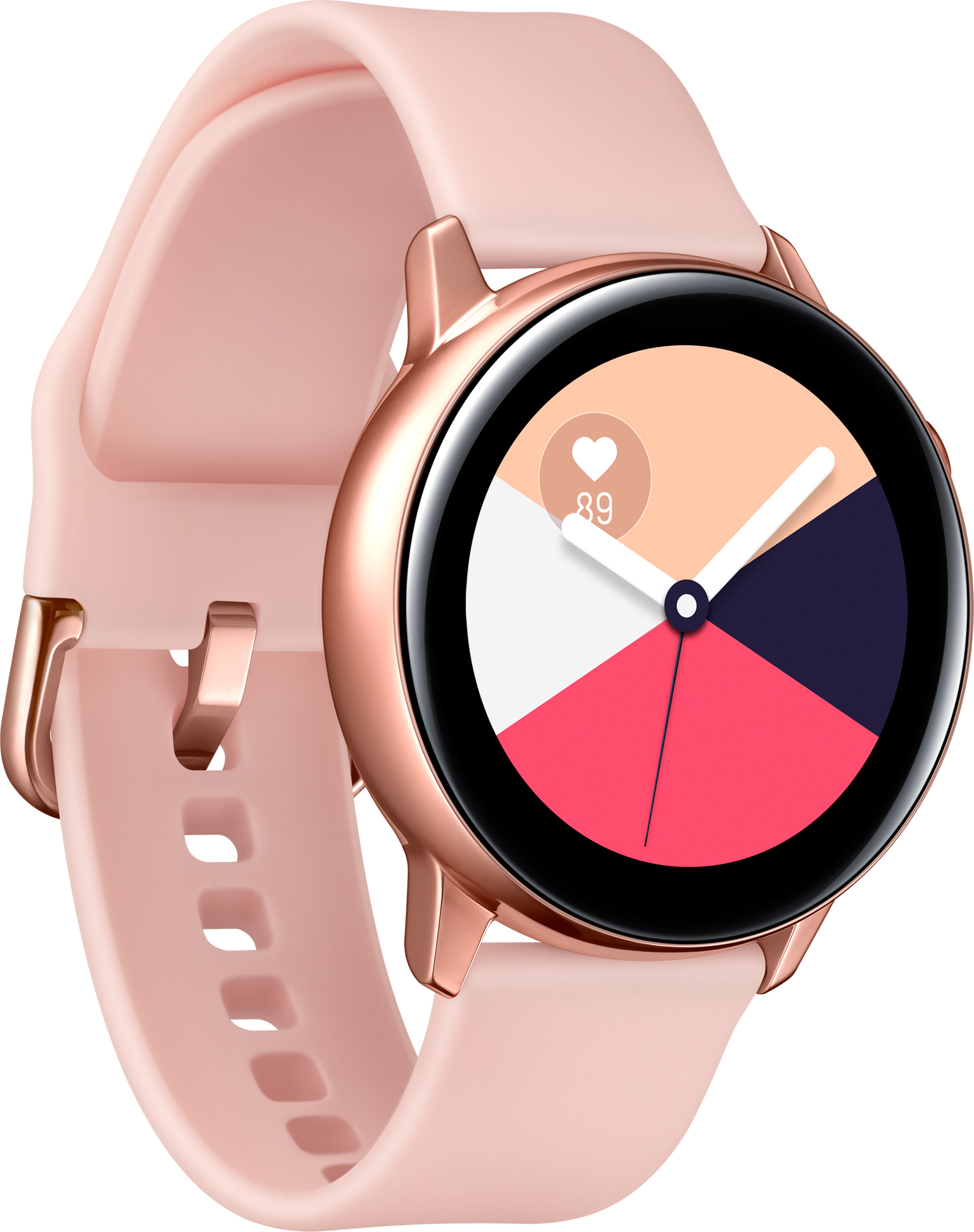Умные часы Samsung Galaxy Watch Active SM-R500NZDASER (Light Rose)