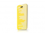 Чехол-книжка Itskins Angel White&Yellow для iPhone 5C