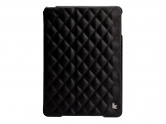 Jison Quilted Leather Cover Black чехол  для iPad air