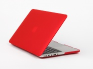 Чехол Daav HardShell Satin для MacBook Pro 15 Retina (Red)