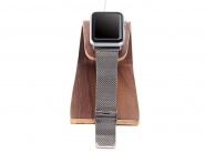 Samdi Natural Wood Docking Charge Station Brown док-станция для Apple Watch