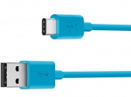 Кабель Belkin Charge Cable USB-A to USB-C F2CU032BT06BLU (Blue)