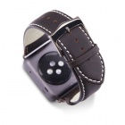 Dbramante1928 Copenhagen Watch Strap (AW38HDSG0634) - ремешок для Apple Watch 38mm (Space Grey/Hunter)