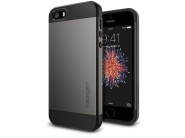 Чехол SGP Slim Armor для iPhone 5/5s/SE (Gunmetal)