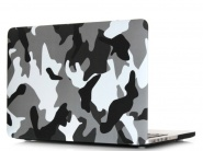 Чехол Novelty Electronics Transparent Hard Shell Case для MacBook 12 Retina (Khaki/Grey)