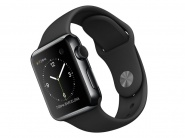 Умные часы Apple Watch 38 мм (MLCK2RU/A) Space Black St.Steel/Black
