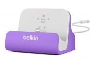 Belkin Charge + Sync Dock Purple док-станция для iPhone