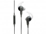 Наушники Bose SoundSport iOS (741776-0010) для iPhone (Charcoal Black)
