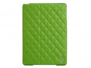 Jison Quilted Leather Cover Green чехол для iPad Air