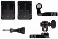 Набор креплений GoPro Helmet Front And Side Mount (AHFSM-001) на шлем