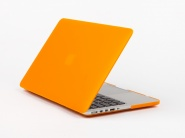 Чехол Daav HardShell Satin для MacBook Pro 15 Retina (Orange)