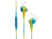 Наушники Bose SoundSport iOS (741776-0020) для iPhone (Neon Blue)