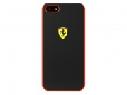 Чехол Ferrari Scuderia Hard для iPhone SE/5S/5 (Black)