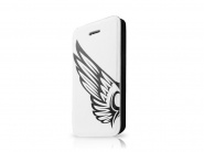 Чехол-книжка Itskins Angel White&Black для iPhone 5C