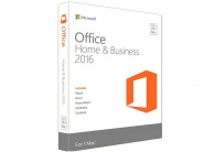 ПО Microsoft Office Mac Home Business 1PK 2016 Russian Russia Only Medialess (W6F-00613)