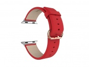 Ремешок Hoco Art Series Classic Real Leather Watchband для Apple Watch 38mm (Red)