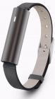 Фитнес браслет Misfit Ray Leather Band (Carbon Black/Black)
