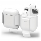 Чехол Elago Carrying Clip для AirPods (Frosted Transparent)