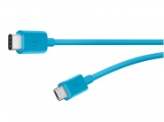 Belkin  F2CU033BT06BLU USB-C - Micro-USB Charge Cable Blue 1.8 м,кабель для синхронизации