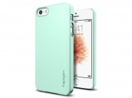 Чехол SGP Thin Fit для iPhone 5/5s/SE (Mint)