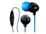 X-1 Surge Contact Waterproof Headphones IE2-MBK-X наушники-вкладыши