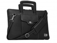 Чехол Urbano Leather Habdbag для MacBook 13 (Black)