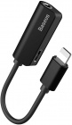 Переходник Baseus Charging and Lightning to 3.5 mm Jack (Black)