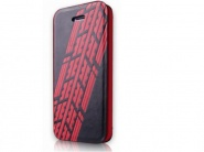 Чехол-книжка Itskins Angel Black&Red для iPhone 5C