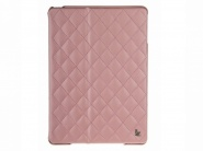Jison Quilted Leather Cover Pink чехол для iPad Air