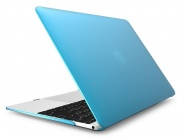 Чехол Novelty Electronics Transparent Hard Shell Case для MacBook 12 Retina (Blue)