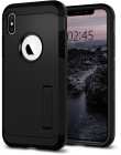 Чехол Spigen Tough Armor (063CS25118) для iPhone X/Xs (Black)