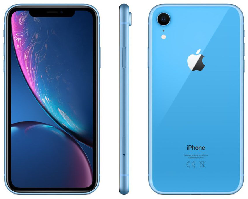 Смартфон Apple iPhone XR 64Gb MRYA2RU/A (Blue)