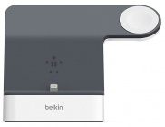 Док-станция Belkin PowerHouse Charge Dock F8J200vfWHT для Apple Watch и iPhone (White)
