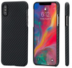Чехол Pitaka MagCase (KI8001XS) для iPhone Xs (Black/Grey)
