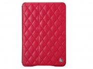 Jison Quilted Leather Cover Red чехол для iPad Air