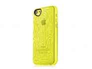 Чехол Itskins Ink для iPhone 5c (Yellow)