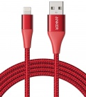 Кабель Anker PowerLine+ II Lightning Cable (A8452H91) 0.9 м (Red)