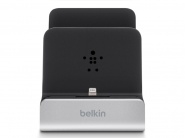 Док- станция Belkin Dual Lightning Charging Dock (F8J135VF) для iPhone/iPad /iPod (Black/Silver)